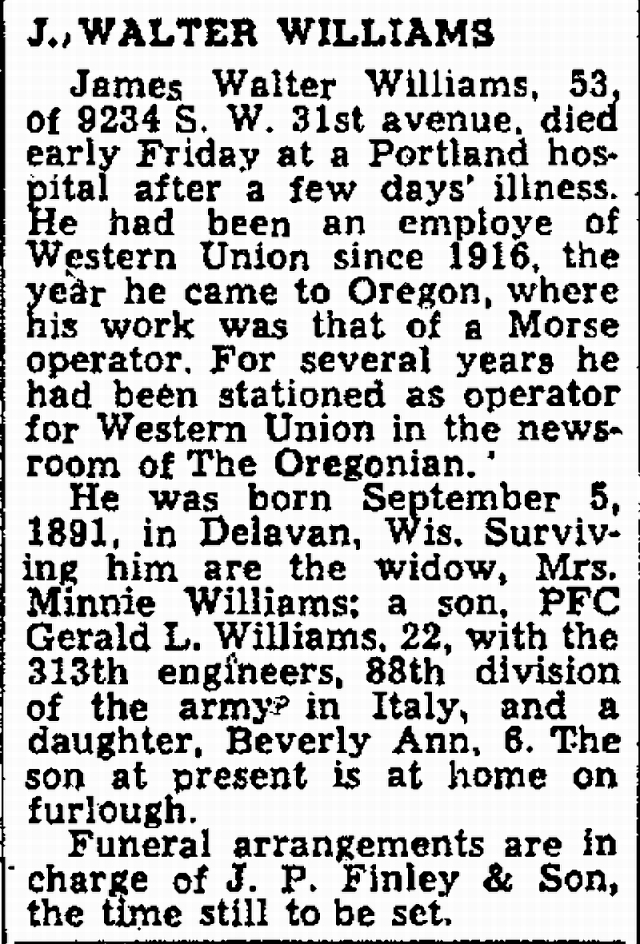 The Oregonian, 8 September 1945, page 7